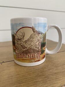 Field & Stream Coffee Cup Mug Houston Harvest Deer Buck Trout Fish