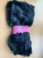CIRCO - Black Faux Fur Children Leg Warmer. 2 In Bag. SIZE - One Size. NW IN BAG