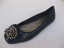 Pierre Dumas Womens Shoes NEW $39 Moni Navy Blue Ballet 6 M