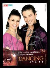 Eva Marold und Thomas Kraml Autogrammkarte Original Signiert ## BC 156875