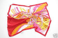 Neu Coccinelle großes Tuch Schal Halstuch Scarf 90cm x 90cm 1-15 (49) #567