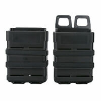 Tactical Rifle Mag Magazine Pouch MOLLE System Holder for 5.56 Hunting