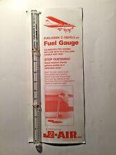 Fuelhawk C182/43.5 gal Fuel Gauge for Cessna 182 Skylane Pilots!Airplane owners