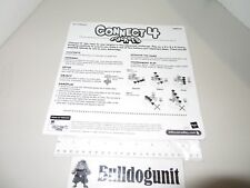 2006 Connect 4 Stackers Board Game Manual Replacement Part Only Milton Bradley