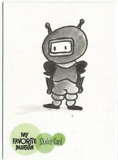 My Favorite Martian Sketch Card created by Jerry Fleming  [ A ]