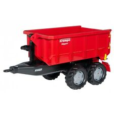 Rolly Toys Krampe Rimorchio Container Kipper Trailer Rosso