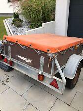 WM Meyer Anhänger Pkw 600 kg gebraucht mit Plane ungebremst stabil