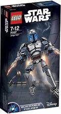 75107 JANGO FETT buildable figure star wars lego NEW legos set SEALED