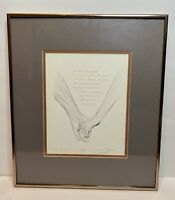 Robert Sexton 'The Promise' Lithograph Numbered 160/600 Signed Framed & Matted