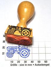 Porsche Diesel Junior Traktor (1958) als Stempel mit Holzgriff
