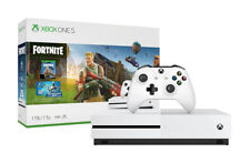 Microsoft Xbox One S 1TB Fortnite Console Bundle - White