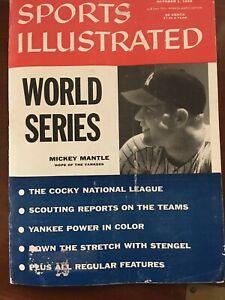 "Vintage Sports Illustrated October 1, 1956 ""World Series"""
