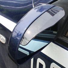 2 PC PER AUTO UNIVERSALE Laterale Posteriore Vista Specchio Pioggia Neve SCUDO NERA IN PVC