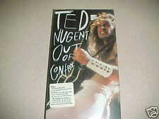 TED NUGENT OUT OF CONTROL 2 CD LONGBOX BOX SEALED 1993