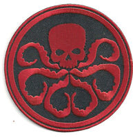"""Captain America HYDRA/Red Skull  3.5"""" Embroidered Movie Patch (CAPA-02)"""