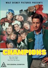 Champions (The Mighty Ducks) DVD Region 4 (Walt Disney) Emilo Estevez