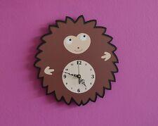 Cute Little Hedgehog Cartoon Wall Clock Kids