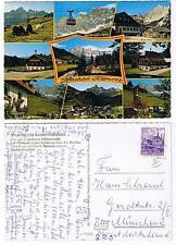 Pk219 cartolina AK Austria Austria hachau-Feltro muschio di bachlalm Salzburg 1977