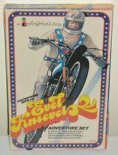 VINTAGE 1974 EVEL KNIEVEL ADVENTURE SET COLORFORMS FACTORY SEALED MINT IN BOX