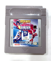 Winter Olympic Games ORIGINAL NINTENDO GAMEBOY GAME Tested ++ WORKING +AUTHENTIC