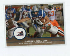 2016 Upper Deck CFL High Gloss Samuel Giguere #7 8/10 Alouettes