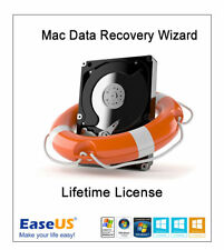 EaseUS Mac Data Recovery Wizard - Lifetime License with updates