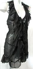 NUISETTE STRING XL sexy noir tulle volanté Seduce Me ANAIS Apparel femme NEUF