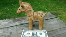 Japanese Haniwa Haji Terracotta Ritual Funerary Clay Horse