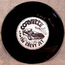 RECORD ~ CORVETTE THE CHEVY JET ~ 1978 INDY PACE CAR ON LABEL