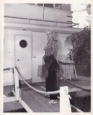 Marilyn Maxwell Jersey Girl Original Candid Vintage Vacaciones Verano Mgm Foto