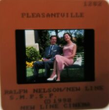Pleasantville Cast Tobey Maguire Reese Witherspoon William H. Macy 1998 Slide 1