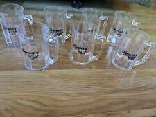 "Lot Of 7 Bernick's Best In Crafts Plastic Small 3"" Mugs"