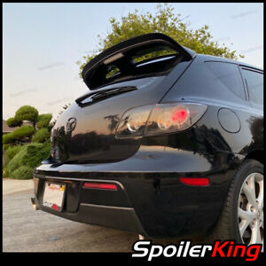 Rear Add-on Gurney Flap Spoiler (Fits: Mazda Mazdaspeed 3 2007-2009) 284FC