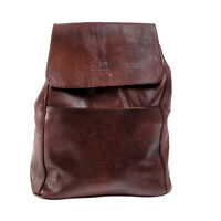Leder Rucksack BINOAR Echtleder Ziegenleder Fairtrade Backpack Lederrucksack dan