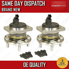 X2 Ford Mondeo Mk3 Jaguar X-Type Rear Wheel Bearing + Hub + Abs Sensor Pair