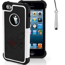 Housses et coques anti-chocs blancs en plastique rigide iPhone 7 pour téléphone mobile et assistant personnel (PDA)