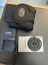 Canon PowerShot Digital ELPH SD1000 7.1MP Digital Camera - Silver with charger