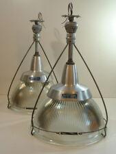 "(1) Holophane 19"" Industrial Kitchen Island Shade Warehouse Gymnasium Light Vtg."