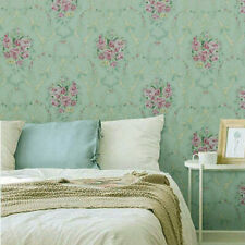 Green Flower Peel and Stick Wallpaper Damask Contact Paper Removable Liner Roll
