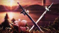 Sword Art Online SAO ALO Anime Fabric Art Cloth Poster 20inch x 13inch Decor 44