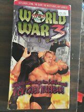 WCW World War 3 97 VHS Tested