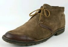 Timberland Earthkeepers Rugged Handcrafted Suede Leather Chukka Boots Mens 8.5-9