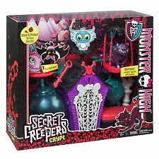 Monster High Toy Set Secret Creepers Crypt Mattel Kids Play Child Girls Fun