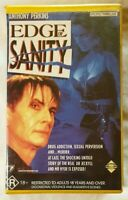 Edge of Sanity VHS 1989 Horror Gerard Kikoine Anthony Perkins Applause Large