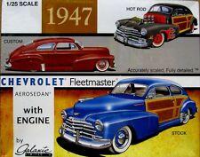 Galaxie 1947 Chevrolet Fleetmaster Aerosedan 1:25 Scale Model Kit  NEW