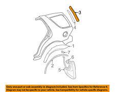 MERCEDES OEM 98-03 ML320 Exterior-Pillar Molding Left 1636900587