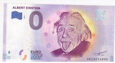 BILLET 0 €  ALLEMAGNE ALBERT EINSTEIN 2020 - 1