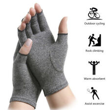 2X Arthritis Gloves Hand Support Pain Relief Finger Compression Thetrapy Gloves