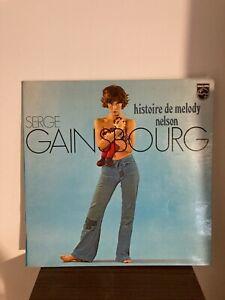 Histoire de Melody Nelson de Serge Gainsbourg (vinyle BAEM)