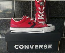 CONVERSE Star Player Trainers Red / White / Black size UK 3.5 EUR 36 NEW